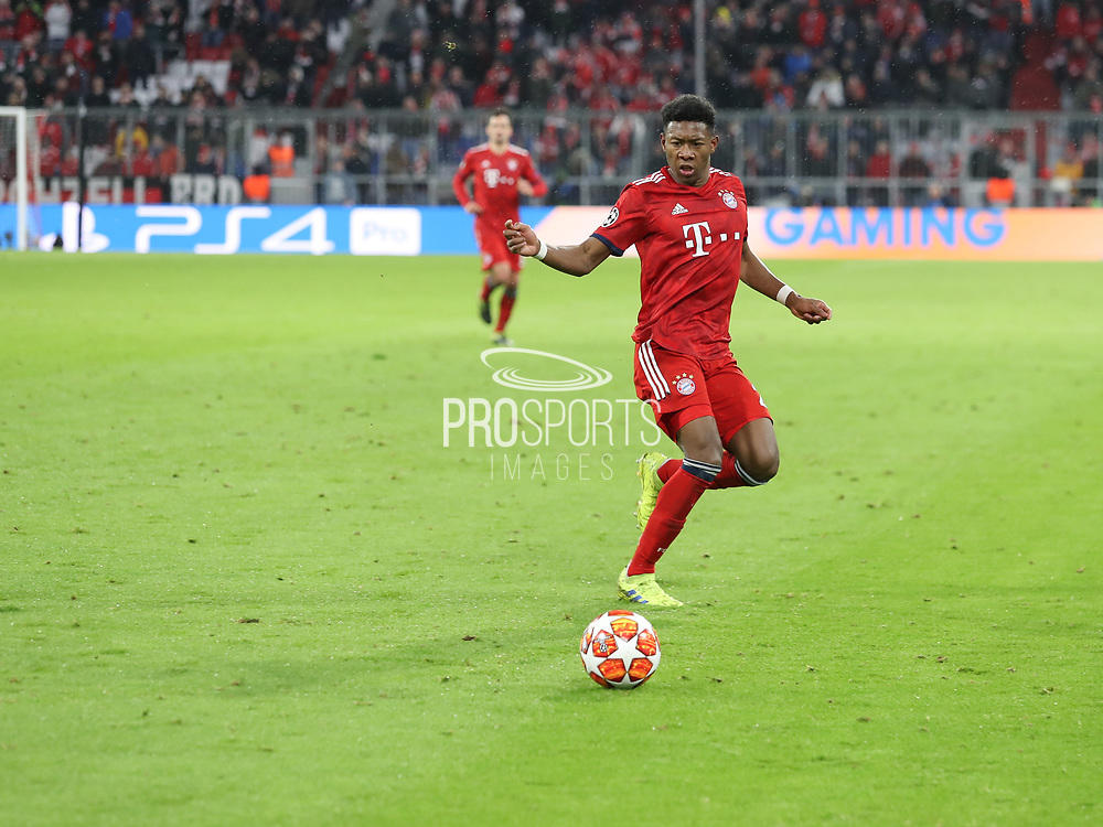 David Alana during the Champions League round of 16, leg 2 of 2 match between Bayern Munich and Liverpool at the Allianz Arena stadium, Munich, Germany on 13 March 2019.