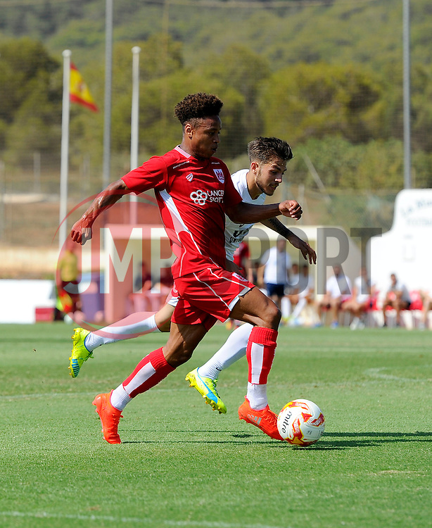 Bobby Reid of Bristol City  - Mandatory by-line: Joe Meredith/JMP - 22/07/2016 - FOOTBALL - La Manga Training Ground - La Manga, Murcia - UCAM v Bristol City - Pre-season friendly