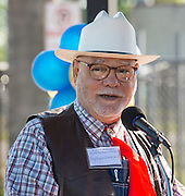 Roy Malonson comments during ground breaking ceremonies at Washington High School, April 5, 2016.