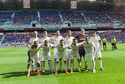 September 30, 2018 - Harrison, New Jersey, United States - Starting eleven of Atlanta United FC pose before regular MLS game against Red Bulls at Red Bull Arena Red Bulls won 2 - 0  (Credit Image: © Lev Radin/Pacific Press via ZUMA Wire)
