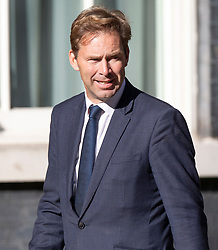© Licensed to London News Pictures. 22/07/2019. London, UK. Defence Minister Tobias Ellwood arrives for Prime Minister Theresa May's farewell drinks reception at Downing Street.  Voting in the Conservative party leadership election ends today with the results to be announced tomorrow. Photo credit: Peter Macdiarmid/LNP