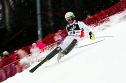 "NANI Roberto (ITA) during 1st Run of 4th Men's Slalom at FIS Alpine Ski World Cup  ""Vip Snow Queen Trophy"" 2012 on January 5, 2012 at Red Run course, Sljeme, Zagreb, Croatia.  (Photo By Vid Ponikvar / Sportida.com)"