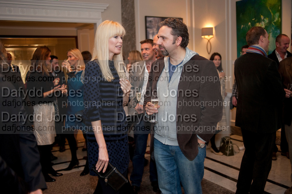 CLAUDIA SCHIFFER; KEITH TYSON, Capturing Claudia. Interpretations of Claudia Schiffer by leading contemporary artists for Harpers Bazaar magazine. Colnaghis Gallery. Old Bond st. and afterwards at Locanda Locatelli's restaurant. Portman sq. London. 2 November 2009.