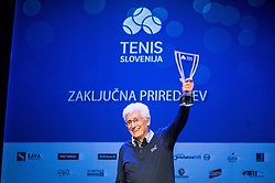 Drago Zavrsnik of ZTK Maribor at Slovenian Tennis personality of the year 2016 annual awards presented by Slovene Tennis Association Tenis Slovenija, on December 7, 2016 in Siti Teater, Ljubljana, Slovenia. Photo by Vid Ponikvar / Sportida