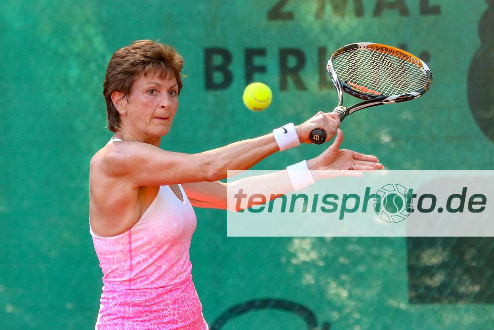 Carola Rummelhagen (TC Weiß-Gelb Lichtenrade), 16. Grün-Weiß Nikolassee Seniorenturnier, Berlin, 21.05.2018, Foto: Claudio Gärtner