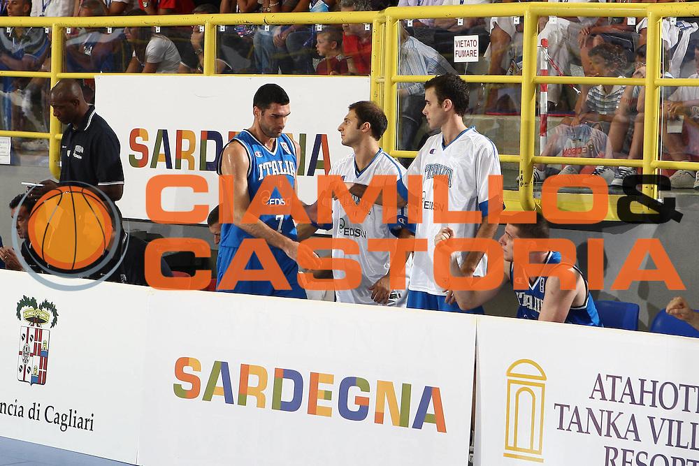DESCRIZIONE : Cagliari Eurobasket Men 2009 Additional Qualifying Round Italia Francia<br /> GIOCATORE : Matteo Soragna<br /> SQUADRA : Italy Italia Nazionale Maschile<br /> EVENTO : Eurobasket Men 2009 Additional Qualifying Round <br /> GARA : Italia Francia Italy France<br /> DATA : 05/08/2009 <br /> CATEGORIA : <br /> SPORT : Pallacanestro <br /> AUTORE : Agenzia Ciamillo-Castoria/C.De Massis