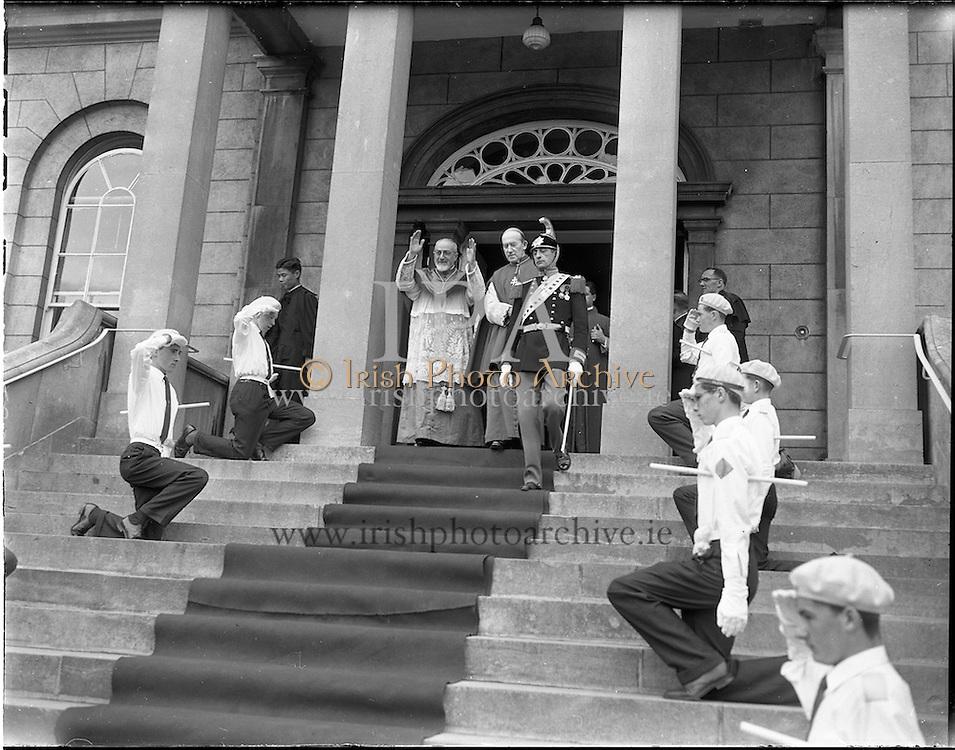 22/06/1961<br /> 06/22/1961<br /> 22 June 1961<br /> Patrician Year Celebrations: Papal Legate Cardinal Gr&eacute;goire-Pierre Agagianian visits Clonliffe College.