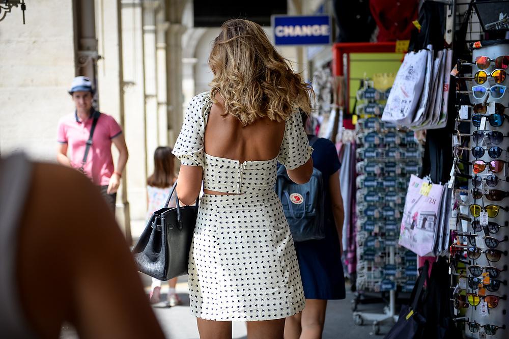 Couture Week on the Rue de Rivoli, July 2018