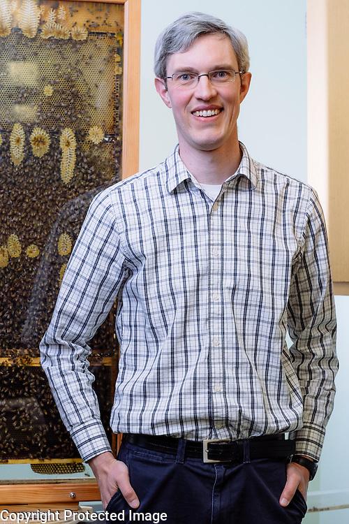 Reed M. Johnson, Ohio State University Assistant Professor of Entomology