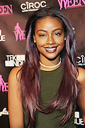 19 November-New York, NY:  Recording Artist Justine Skye attends the 4th Annual WEEN (Women in Entertainment Empowerment Network) Awards held at Helen Mills Theater on November 19, 2014 in New York City.  (Terrence Jennings)