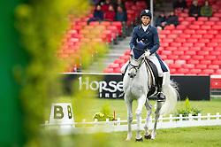 Lips Tim (NED) - Keyflow NOP<br /> Dressage <br /> Mitsubishi Motors Badminton Horse Trials - Badminton 2015<br /> © Hippo Foto - Jon Stroud<br /> 08/05/15