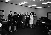 21/07/1967<br /> 07/21/1967<br /> 21 July 1967<br /> Greek Order conferred on Sean Lemass. The Sovereign Greek Order of Saint Denis of Zante was conferred on the former Taoiseach, Sean Lemass T.D. at Leinster House, Dublin. Pericles Voultsos, the Grand Master of the Order travelled specially from the United States to confer the Order of Knighthood on Mr. Lemass. Picture shows (l-r): Mrs Moussoulides; Mrs Voultsos; Mr. Phoebus Moussoulides; Mr Sean Lemass T.D.; Dr. Pericles Voultsos; Mrs Aliki Dunn, Dublin and Miss Eleanor Acunto, Dublin.