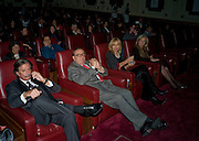Richard Caring; Barry Humphries; Lizzie Humphries. LADY ANNUNZIAta asquith. David Tang and Nick Broomfield host  a reception and screening of Ghosts. On the Fifth anniversary of the Morecambe Bay Tragedy to  benefit the Morecambe Bay Children's Fund. The Electric Cinema. Portobello Rd. London W11. 5 February 2009 *** Local Caption *** -DO NOT ARCHIVE -Copyright Photograph by Dafydd Jones. 248 Clapham Rd. London SW9 0PZ. Tel 0207 820 0771. www.dafjones.com<br /> Richard Caring; Barry Humphries; Lizzie Humphries. LADY ANNUNZIAta asquith. David Tang and Nick Broomfield host  a reception and screening of Ghosts. On the Fifth anniversary of the Morecambe Bay Tragedy to  benefit the Morecambe Bay Children's Fund. The Electric Cinema. Portobello Rd. London W11. 5 February 2009