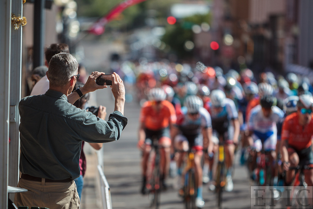 SILVERY CITY, NM - APRIL 21: Stage 4 of the Tour of The Gila on April 21, 2018 in Silver City, New Mexico. (Photo by Jonathan Devich/Epicimages.us)