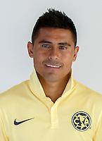 "Mexico League - BBVA Bancomer MX 2014-2015 -<br /> Aguilas - Club de Futbol America / Mexico - <br /> Osvaldo David Martinez Arce "" Osvaldo Martinez """