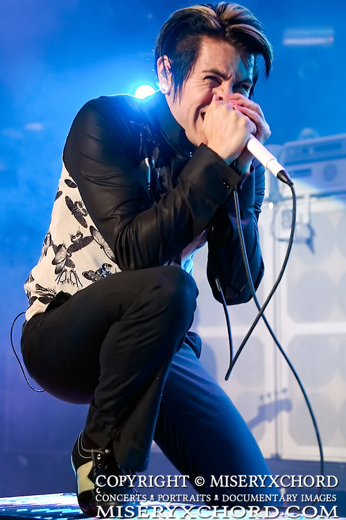 AFI performs at Download Festival at Shoreline Amphitheatre in Mountain View California USA on October 6 2007