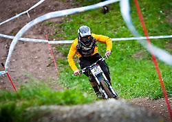 12.06.2011, Bikepark, Leogang, AUT, UCI MOUNTAINBIKE WORLDCUP, LEOGANG, im Bild Downhill Worldcup ROPELATO Mitch, USA // during the UCI MOUNTAINBIKE DOWNHILL WORLDCUP, LEOGANG, AUSTRIA, 2011-06-12, EXPA Pictures © 2011, PhotoCredit: EXPA/ J. Feichter