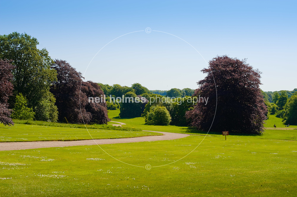 Sledmere house and grounds.
