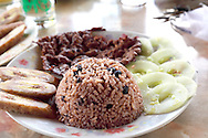 Eating in Ciego de Avila, Cuba.