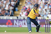 Sean Ervine during the NatWest T20 Blast Semi Final match between Hampshire County Cricket Club and Lancashire County Cricket Club at Edgbaston, Birmingham, United Kingdom on 29 August 2015. Photo by David Vokes.