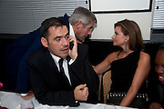 ROLAND MOURET; SIR PHILIP GREEN; NATHALIE MASSANET; , Dinner hosted by editor of British Vogue, Alexandra Shulman in association with Net-A-Porter.com in honour of 25 years of London Fashion Week and Nick Knight. Caprice. London.  September 21, 2009