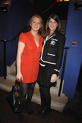Left to right, OCTAVIA DICKINSON and PRINCESS FLORENCE VON PREUSSEN at an exhibition of photographs by Olivia Buckingham held at China Tang, The Dorchester, Park Lane London on 5th March 2007.<br /><br />NON EXCLUSIVE - WORLD RIGHTS