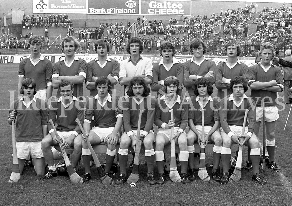 975-233<br /> Cork's Minor Team. <br /> (Part of the Independent Newspapers Ireland/NLI collection.)