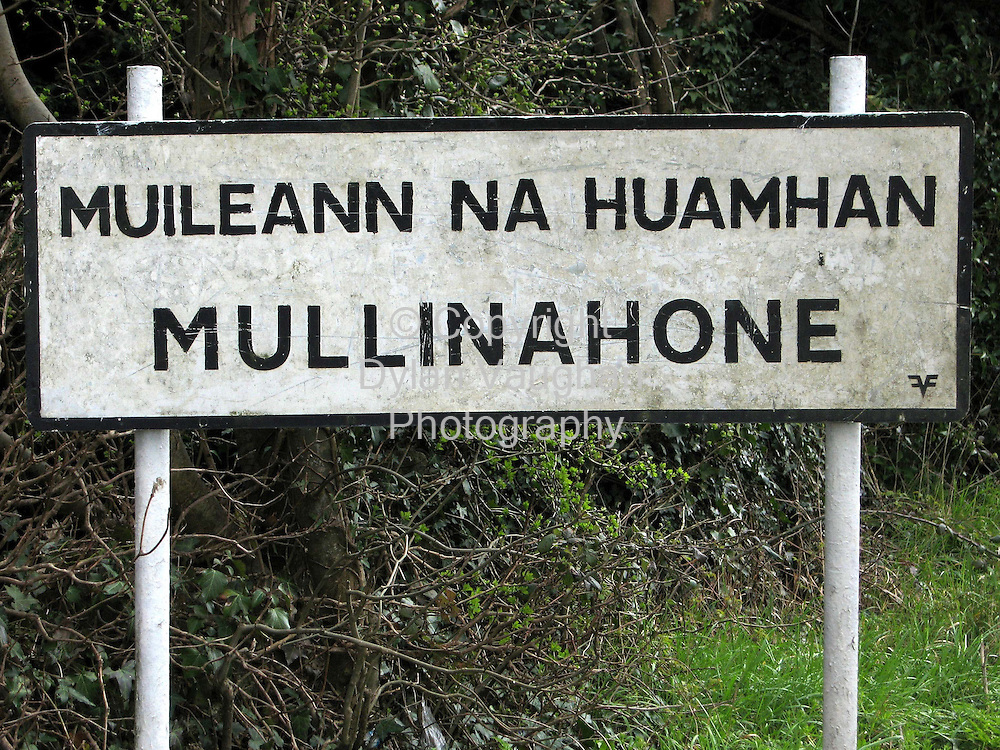 14/4/2006.The sign for Mullinahone county Tipperary..Picture Dylan Vaughan.