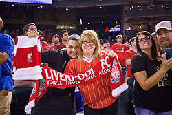 ST. LOUIS, USA - Monday, August 1, 2016: Liverpool supporters after a pre-season friendly game against AS Roma on day twelve of the club's USA Pre-season Tour at the Busch Stadium. (Pic by Concepcion Valadez/Propaganda)