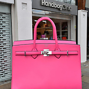 Handbag Clinic - relaunch at 382 King's Road on 4 September 2019, London, UK.