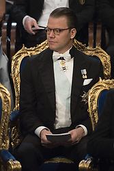 Prinz Daniel bei der Nobelpreisverleihung 2016 in der Konzerthalle in Stockholm / 101216 ***The annual Nobel Prize Award Ceremony at The Concert Hall in Stockholm, December 10th, 2016***