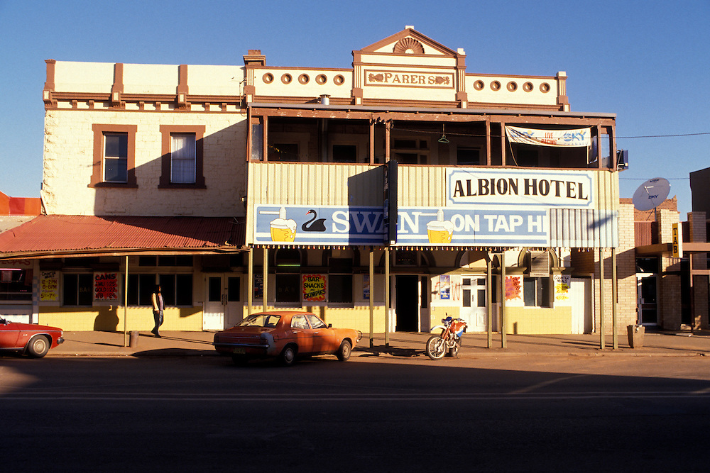 Albion Hotel in Kalgoorlie, Western Australia.