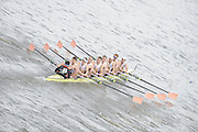 Chiswick, London, GREAT BRITAIN,  Leander Club. starting the the race, looking from Chiswick Bridge. 2011 Head of the River Race. Mortlake to Putney,  Championship Course River Thames on Saturday  02/04/2011  [Mandatory Credit, Peter Spurrier/Intersport-images]
