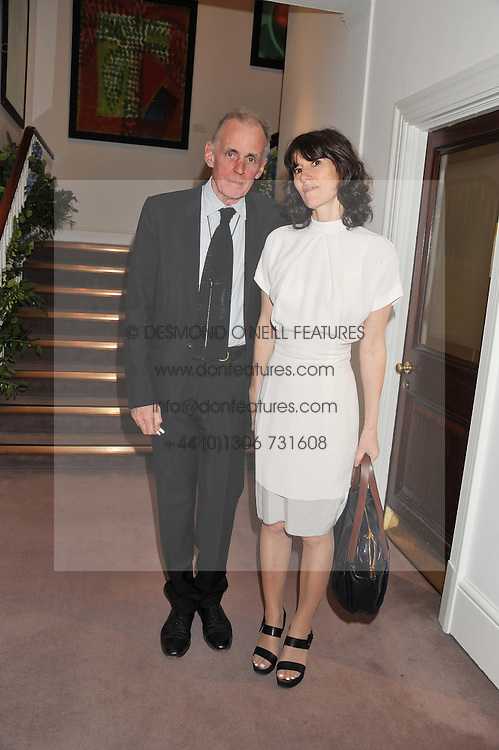 BELLA FREUD and JIMMY FOX at a party to celebrate the publication of Can We Still Be Friends by Alexandra Shulman held at Sotheby's, 34-35 New Bond street, London on 28th March 2012.