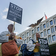 No to Trump's wars, Stop nuclear confrontation