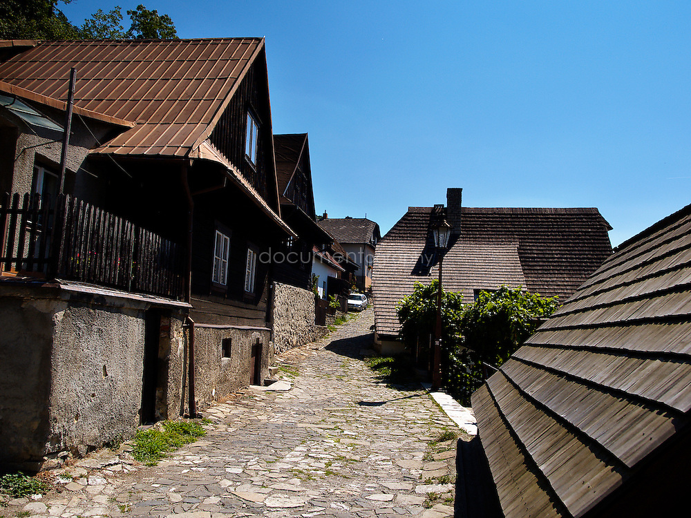 Stramberk village, Czech republic.