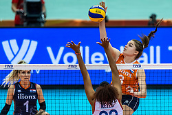 07-10-2018 JPN: World Championship Volleyball Women day 8, Nagoya<br /> Netherlands - Puerto Rico 3-0 / Yvon Belien #3 of Netherlands