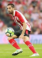 Athletic Club de Bilbao's Xavier Etxeita during Europa League Third Qualifying Round, 2nd leg. April 5,2012. (ALTERPHOTOS/Acero)