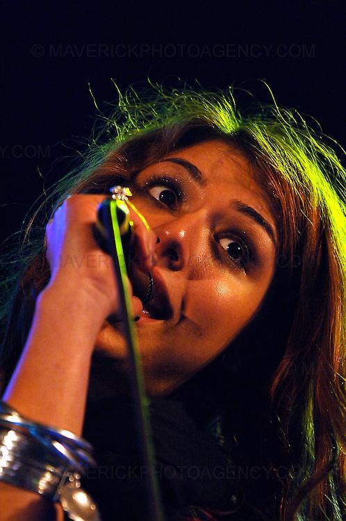 BALADO, KINROSS, SCOTLAND - JULY 12th 2008: Gabriella Cilmi performs live at T in the Park 2008.