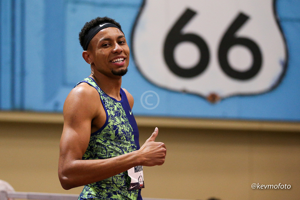2020 USATF Indoor Championship<br /> Albuquerque, NM 2020-02-14<br /> photo credit: © 2020 Kevin Morris<br /> mens 800m heats, Nike