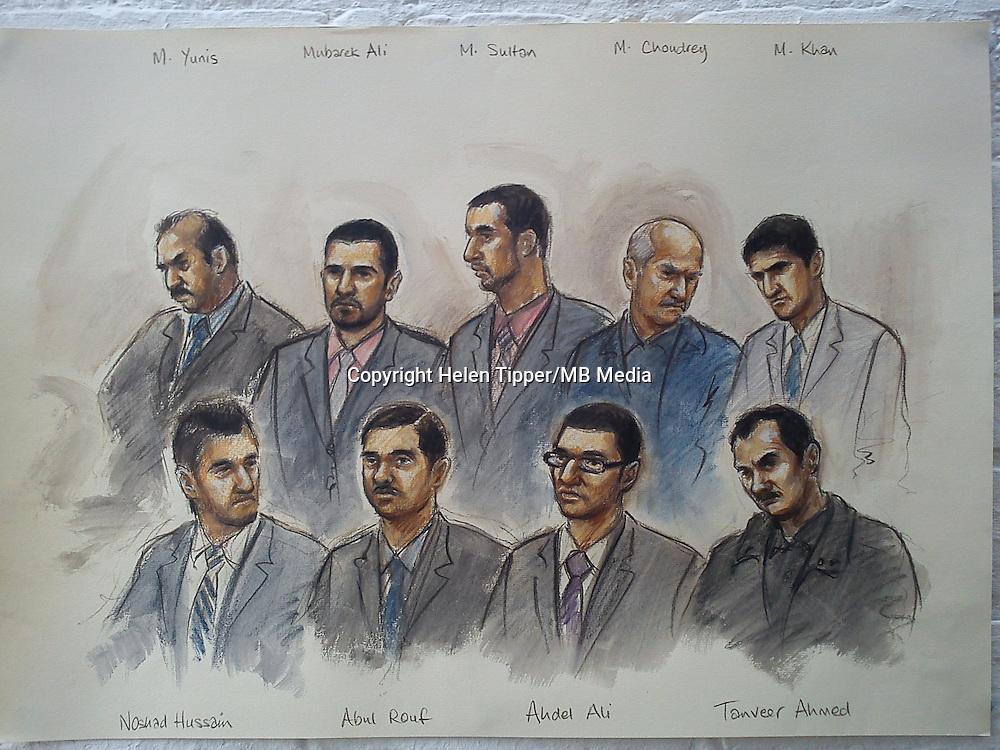 Telford Sex Grooming Gang, Stafford Crown Court   Matthew Buxton