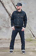Picture by Mark Larner. Picture shows model wearing Heller's Cafe Lot 3 jeans<br /> <br /> &copy;Mark Larner 2015