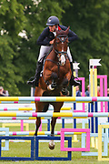 Oughterard Cooley ridden by Wills Oakden in the Equi-Trek CCI-4* Show Jumping during the Bramham International Horse Trials 2019 at Bramham Park, Bramham, United Kingdom on 9 June 2019.