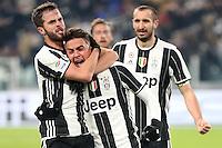 can - 08.01.2017 - Torino - Serie A 2016/17 - 19a giornata  -  Juventus-Bologna nella  foto: Paulo Dybala esulta dopo il gol del 2 a 0 su rigore