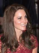 "Kate Middleton Attends ""42 Street"" Opening Night"