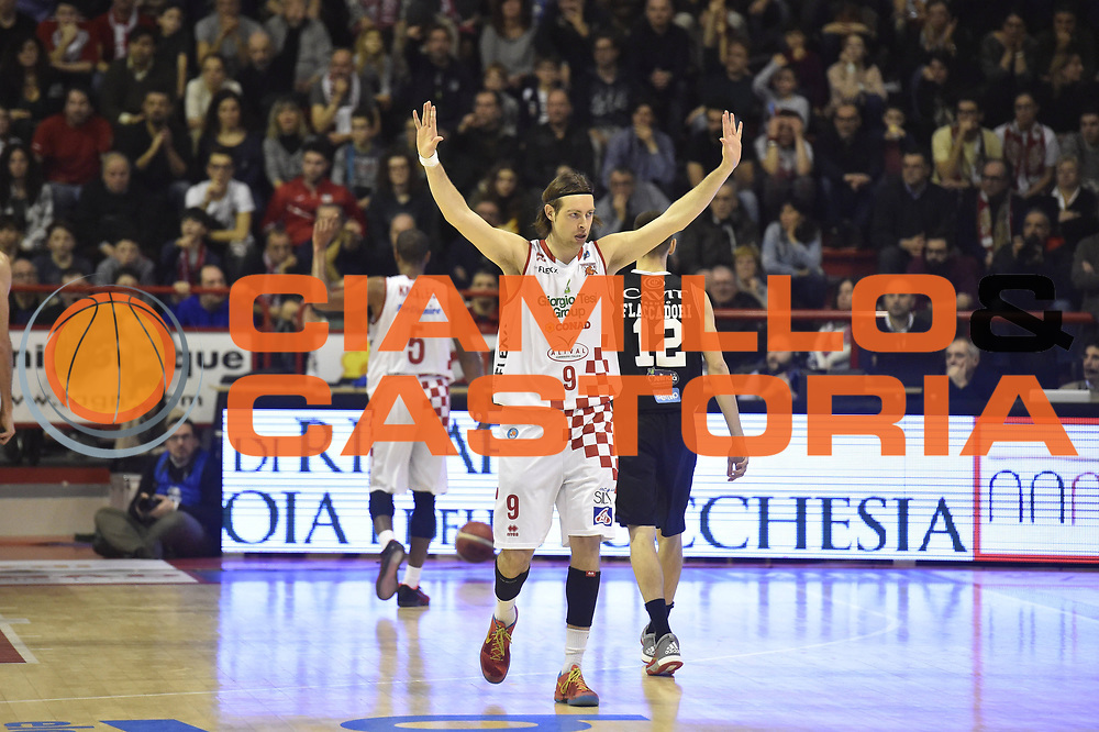 31 Gennaio PISTOIA<br /> BASKET SERIE A<br /> Giorgio Tesi Group Pistoia Dolomiti Energia Trento<br /> NELLA FOTO Michele Antonutti<br /> FOTO CIAMILLO