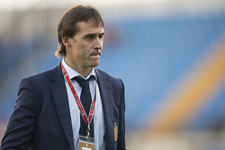 October 6, 2017 - Alicante, Spain - Julen Lopetegui during the qualifying match for the World Cup Russia 2018 between Spain and Albaniaat the Jose Rico Perez stadium in Alicante, Spain on October 6, 2017. (Credit Image: © Jose Breton/NurPhoto via ZUMA Press)