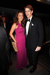 BEN ELLIOT and MARY-CLARE WINWOOD at The Love Ball hosted by Natalia Vodianova and Lucy Yeomans to raise funds for The Naked Heart Foundation held at The Round House, Chalk Farm, London on 23rd February 2010.