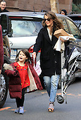 Keri Russell pictured in New York