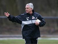 Trainer Hanspeter Latour<br /> Fussball Training 1.FC Koeln , fc Köln
